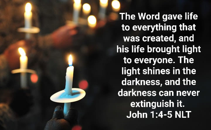 Christmas Sunday: Share the Light of Jesus!