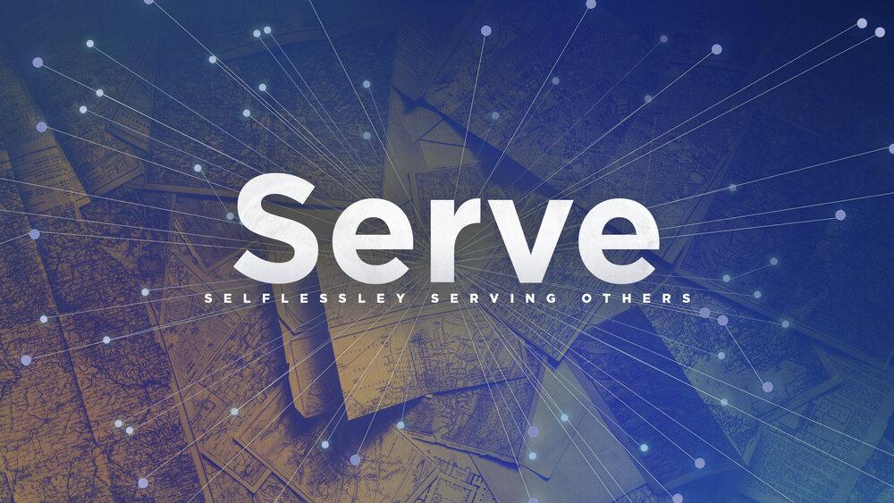 #4 I Will Serve