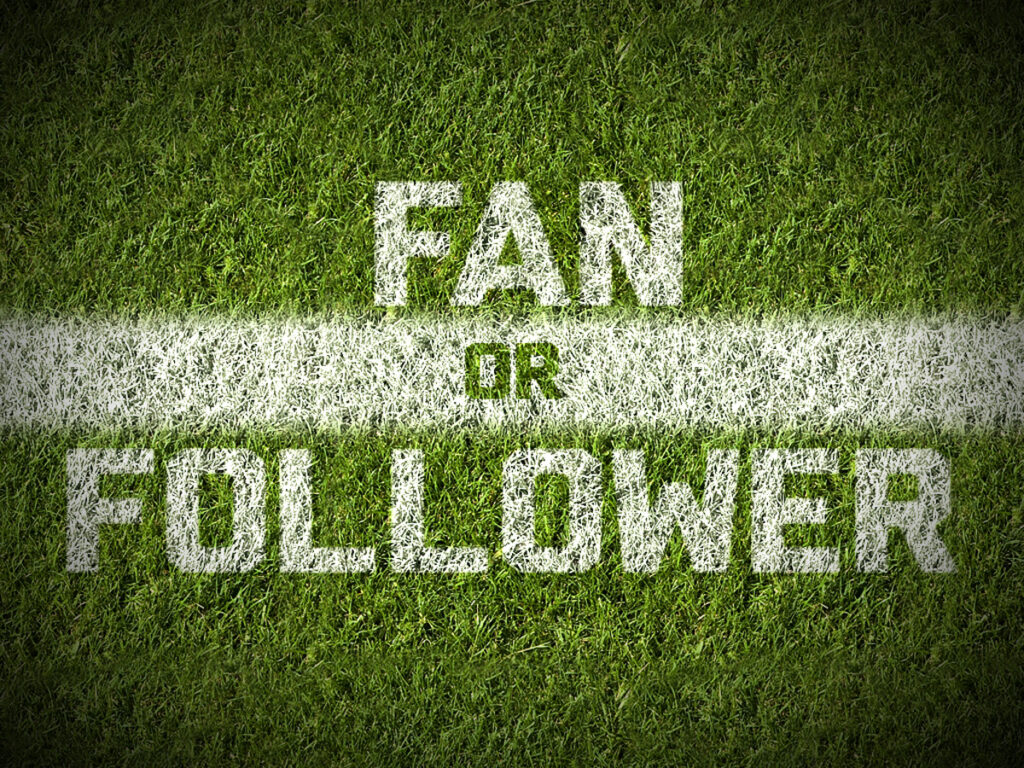 #1: Fan or Follower – Not a Fan Series