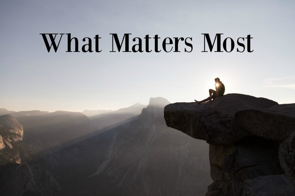 #3 What Matters Most – Not a Fan Series